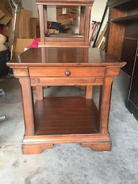 2 Cherry Wood side tables