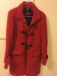 red button-up coat Mississauga, L5M
