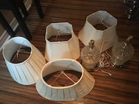 Lamps and shades take all for $40 Brampton, L6X 2P5
