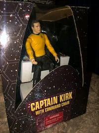 Star Trek Captain Kirk with command chair  Lombard, 60148
