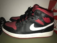 Jordan 1 retro black/ red gym size 9.5 Gaithersburg, 20877
