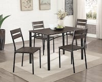 5 Pc Table Set (Brand New In Box) Ontario, 91764