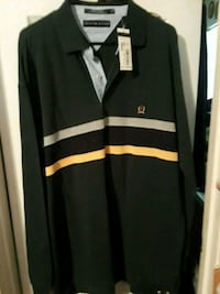 black and white striped long-sleeved shirt Seagoville, 75159