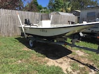 1999 14 ft Carolina skiff 30 hp Johnson runs great 2600 obo will send more pictures if interested  Vero Beach, 32967