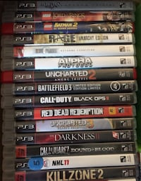 Cheap PS3 games Brampton, L6V 3M5
