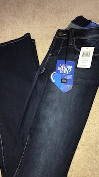 Blue denim bootcut  jeans Clinton, 20735