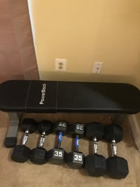 Weight Bench and Dumbells Chantilly, 20166