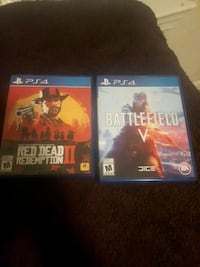 Battlefield 5 and Red Dead Redemption 2 PS4