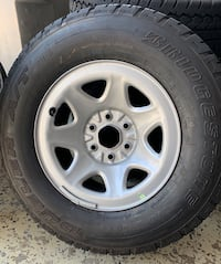 Set of 4 rims and tires Gaithersburg, 20878