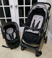 Graco Views Stroller/SnugRide Infant carseat! Toronto, M5H 1H1