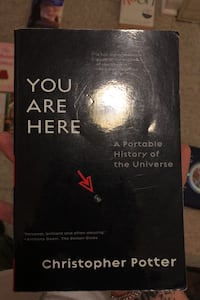 You are here A portable history of the universe  Whitby, L1N 2R2