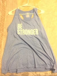 Blue and white workout tank Florence, 35630