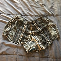 black and brown leopard print short shorts Culver City, 90230