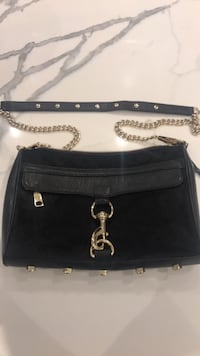 Rebecca Minkoff Black Mohair Bag Large