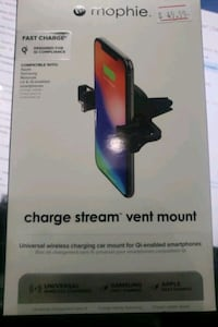 Fast Wireless Car vent Charger