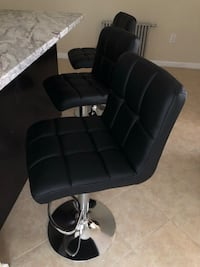 1-$65 / 2-$125 / 3-$175 / 4-$230 Set of bar stools brand new!!! prices for set Chairs sillas cadeiras  Clifton, 07011