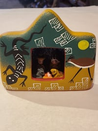 Hand Painted Nativity from Peru