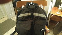 Work jacket with reflecting strips brand new