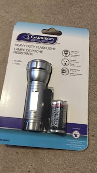 Garrison heavy duty flashlight Oshawa, L1K 0K8