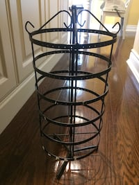 3 tier metal rotating earring stand  Mississauga, L5L 5N8