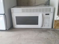 white General Electric microwave oven Oshawa, L1K 3B5