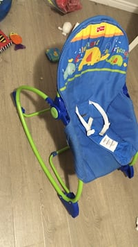 baby's blue and green bouncer Dartmouth, B2W 2C5