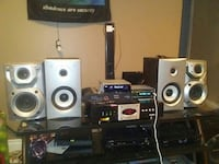 black and silver home theater system Edmonton, T5Z 2J3