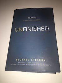 Unfinished  by Richard Stearns New York, 11219