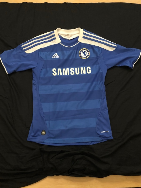 online store 63a12 67243 Adidas Chelsea Jersey 2011/2012 jersey Men's small