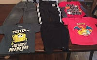Nice Boys 6 PC Lot: Jeans, Track Pants, Tees, Sizes 6, 6/7, XS, S Louisville, 40220