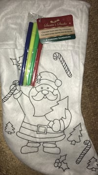 Color your own stocking NEW Thomasville, 27360