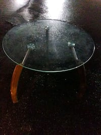 Glass and Crome table Henderson, 89011