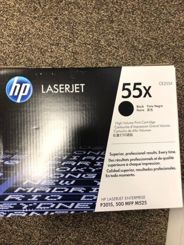 HP Laserjet 55X Black toner 120c1dec-8381-4922-b780-4fef4fa0fb52