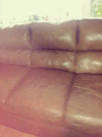 pink leather 3-seat sofa New York, 10037