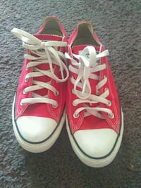 pair of red Converse All Star high-top sneakers Louisville, 40213