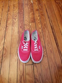 Van's Low Top Authentic (Size 6 Boys/Red) Baltimore, 21218