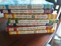Diary of a wimpy kid books Montgomery, 60538