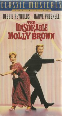 vhs The Unsinkable Molly Brown Debbie Reynolds Harv Presnell Newmarket