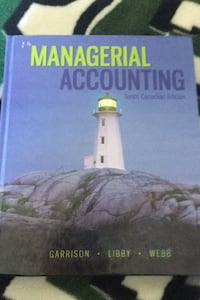 Managerial Accounting 10th Canadian edition  Calgary, T3H 0L2