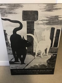 "Manet poster ""the Cats' Rendezvous"" Calgary, T2P 0E4"