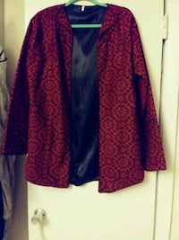 Red and black jacket Arabic style Baltimore, 21239