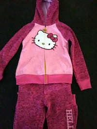 hoodie with matching pants hello kitty Bakersfield, 93313