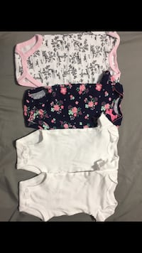 toddler's three assorted onesies Los Fresnos, 78566