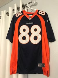 broncos jersey thomas 88 size small authentic Kissimmee, 34744