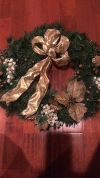 brown and green floral wreath Odenton, 21113