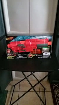 red and gray Star wars nerf gun California, 92585