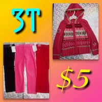Girls 3T clothes bundle Toledo, 43611