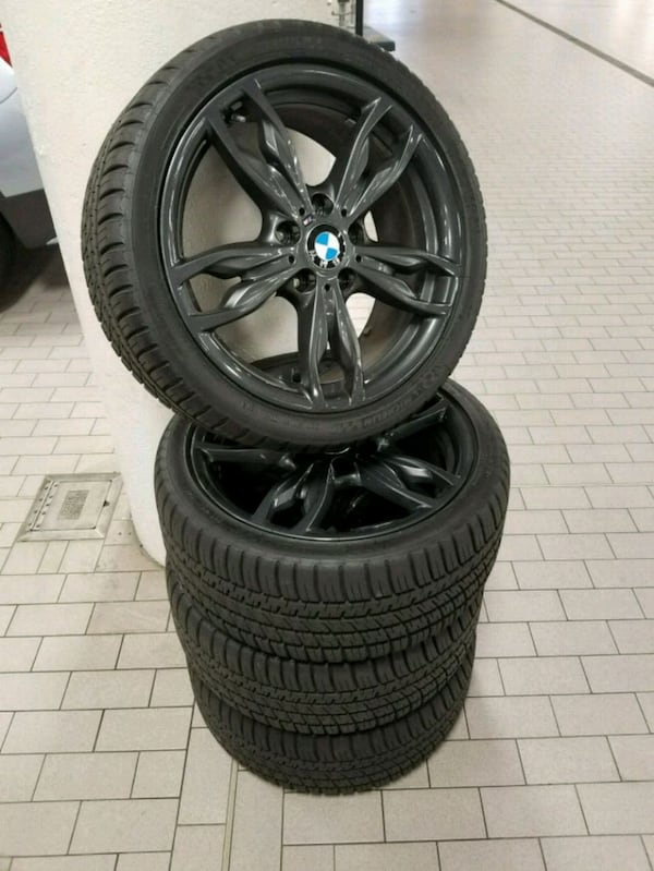 BMW M235i Wheel and Tire Set 0