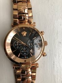 VERSACE rose gold watch  Toronto, M2J