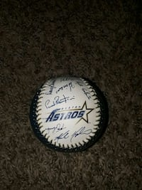 Astros signed ball  Spring, 77373